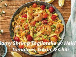 shrimp-tagliatelle